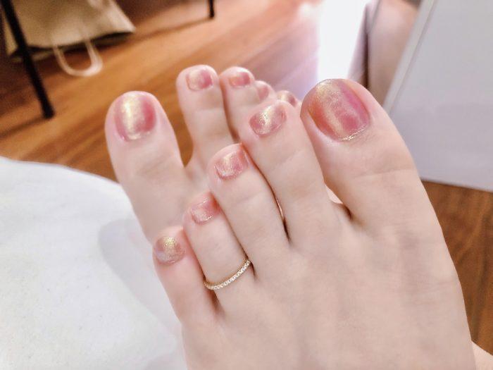 マイコの足のお指です(^^)♡