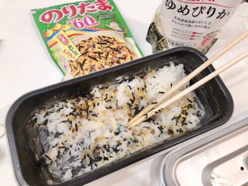 米がご飯になりました^ω^✌️